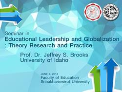 Click to view album: สัมมนาวิชาการเรื่อง Educational Leadership and Globalization